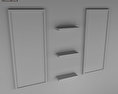 Bathroom Furniture 08 Set 3d model