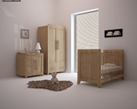3D model of Nursery Room Furniture 09 Set