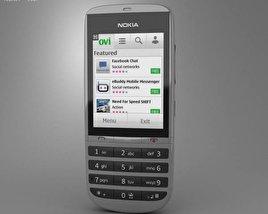 3D model of Nokia Asha 300