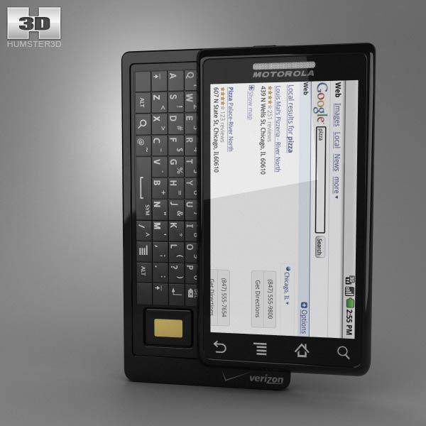 Motorola Droid A855 3d model