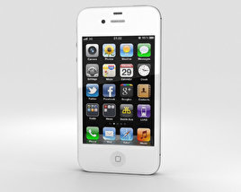3D model of Apple iPhone 4s