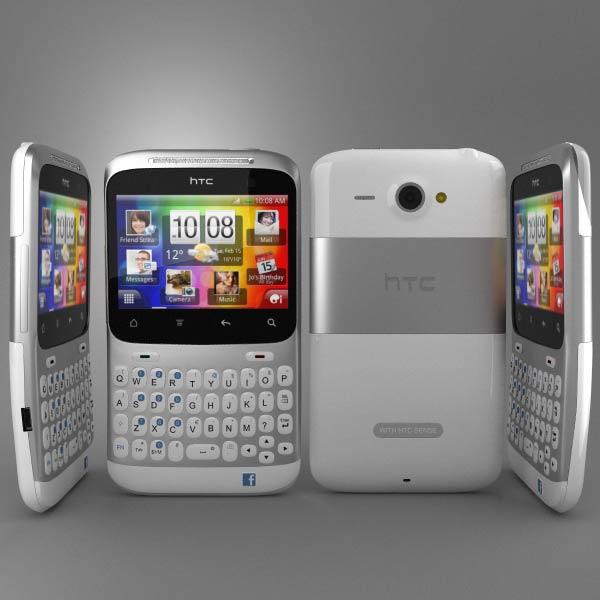 HTC ChaCha 3d model