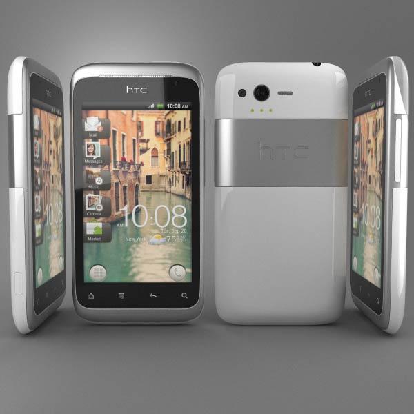 HTC Rhyme 3d model