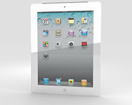 3D model of Apple iPad 2 WiFi 3G