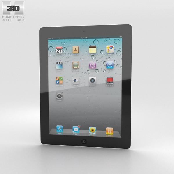 Apple iPad 2 WiFi 3D model