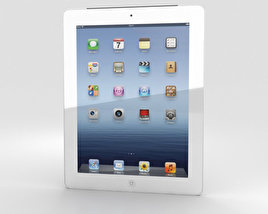 3D model of Apple The new iPad WiFi 4G (iPad 3)