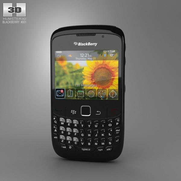 BlackBerry Curve 8520 3D model