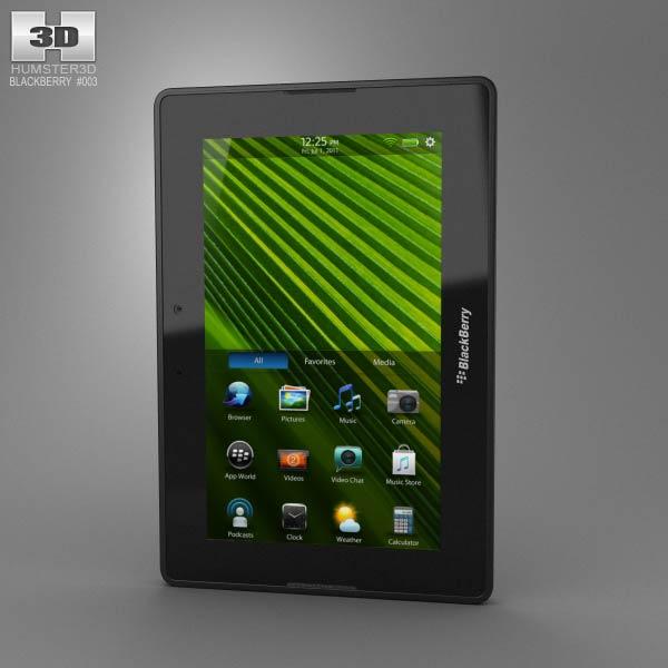 BlackBerry PlayBook 3D model