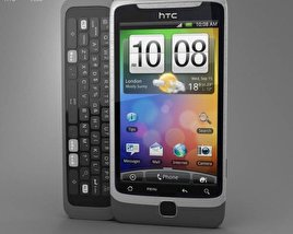3D model of HTC Desire Z
