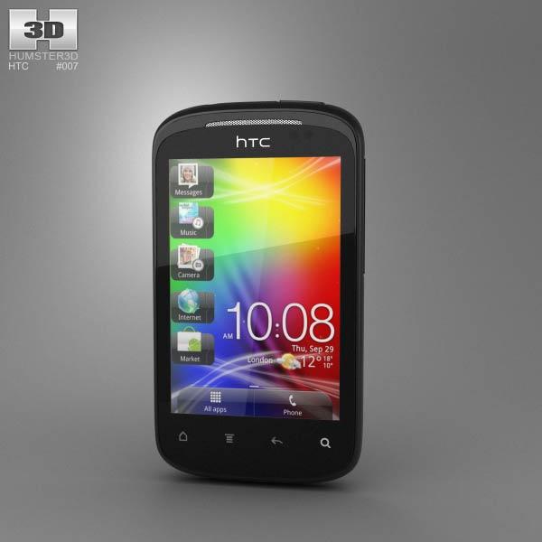 HTC Explorer 3d model