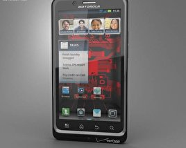 Motorola Droid Bionic 3D model