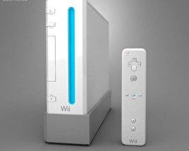3D model of Nintendo Wii