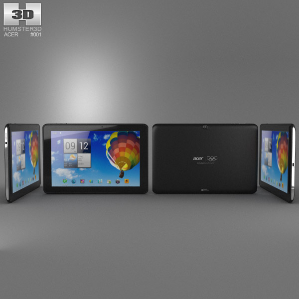 Acer Iconia Tab A510 Modelo 3D