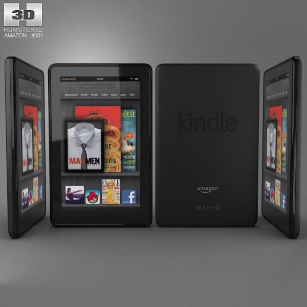Amazon Kindle Fire 3d model