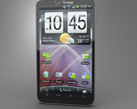 3D model of HTC Thunderbolt