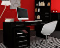 Home Workplace Furniture 08 3d model