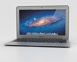 3D model of Apple MacBook Air 11 inch