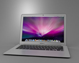 3D model of Apple MacBook Air 13 inch