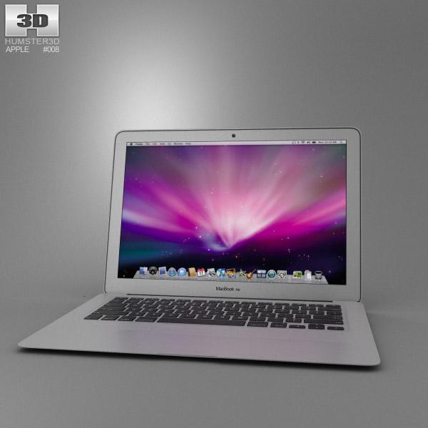 3D model of Apple MacBook Air 13 inch