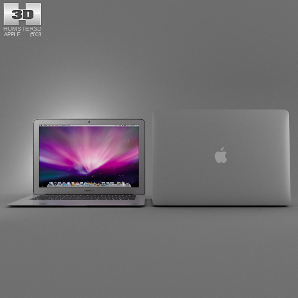 Apple MacBook Air 13 inch 3d model