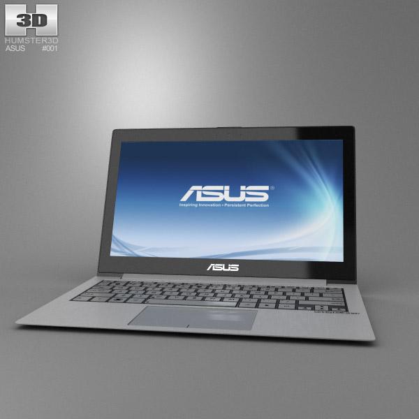 3D model of Asus Zenbook UX21
