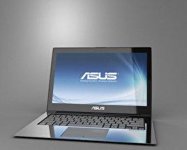 3D model of Asus Zenbook UX31