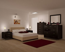 3D model of Bedroom Furniture 26 Set