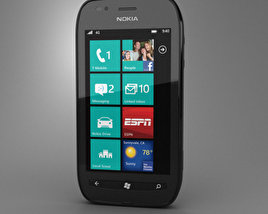 3D model of Nokia Lumia 710