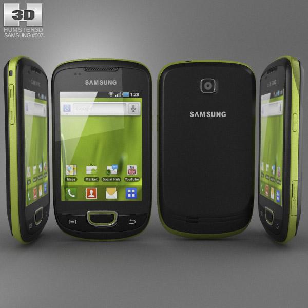 Samsung Galaxy S Mini 3d model