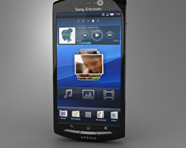 3D model of Sony Xperia Neo V