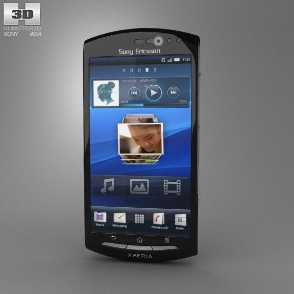 Sony Xperia Neo V 3d model