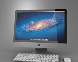 3D model of Apple iMac 21.5 2012