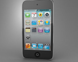 Apple iPod Touch 4 3D model