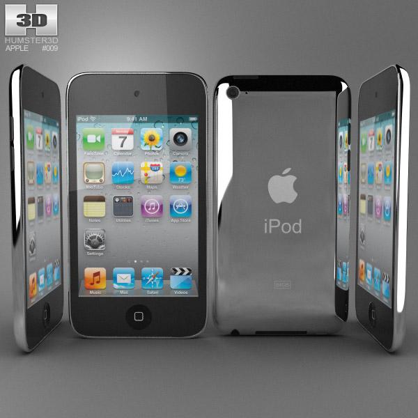 Apple iPod Touch 4 3d model