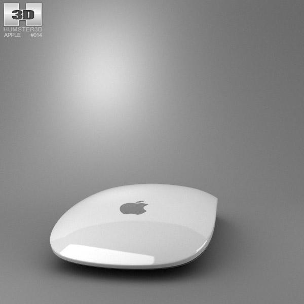 3D model of Apple Magic Mouse