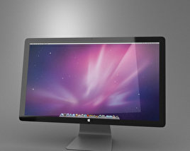 3D model of Apple Thunderbolt Display 27 2012