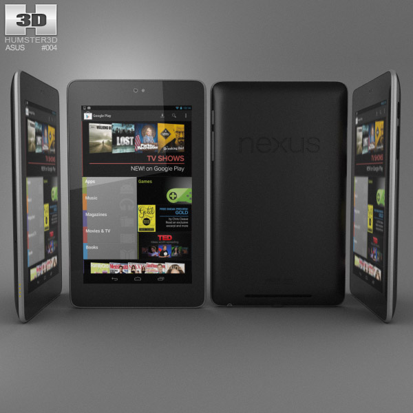 Google Nexus 7 3d model