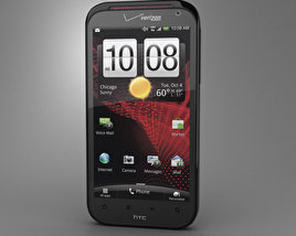 3D model of HTC Rezound 4G
