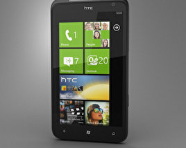 3D model of HTC Titan