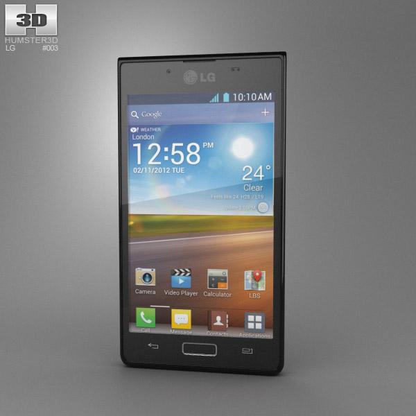 LG Optimus L7 3d model