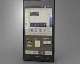 3D model of LG Optimus LTE 2