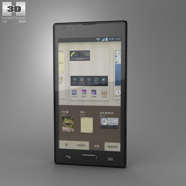 LG Optimus LTE 2 3D model