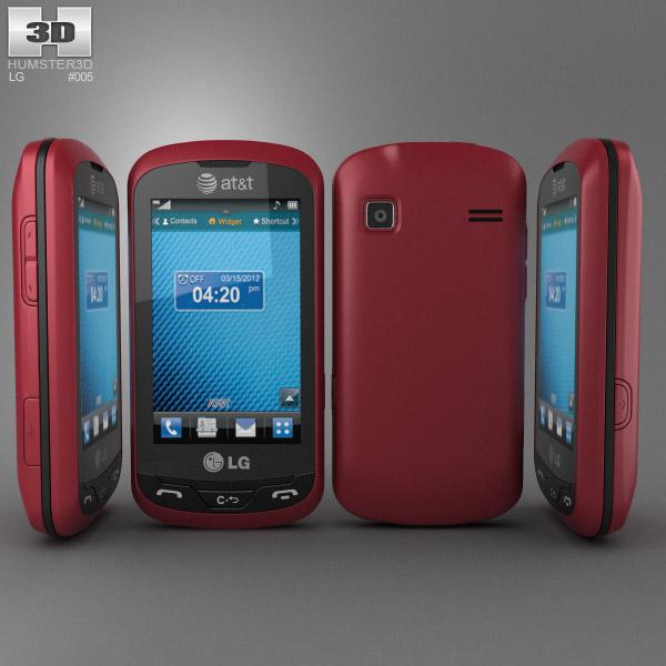 LG Xpression C395 3d model