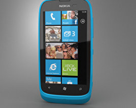 3D model of Nokia Lumia 610