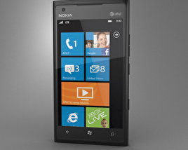 3D model of Nokia Lumia 900