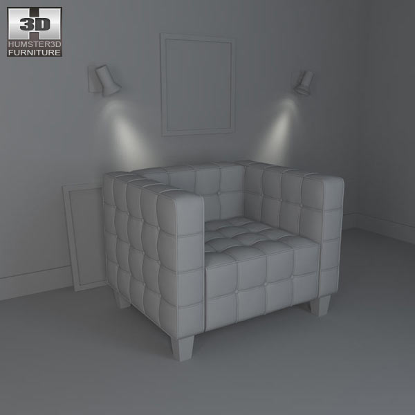 Occasional Armchair 3d model