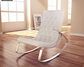 3D model of Raymondo Rocking Chair