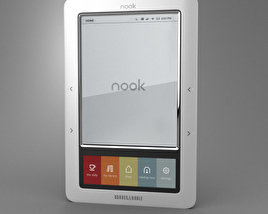 3D model of Barnes & Noble Nook Classic