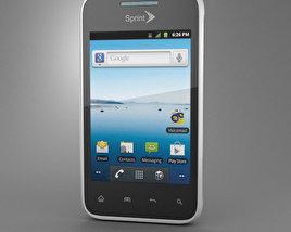 LG Optimus Elite 3D model