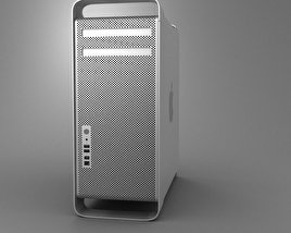 3D model of Apple Mac Pro